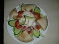 Cézár saláta pitával