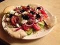 Görög saláta pitával